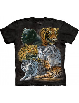 Big Cats T-Shirt The Mountain