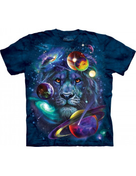 Lion Of Cosmos T-Shirt The Mountain