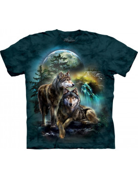Wolf Lookout T-Shirt The Mountain