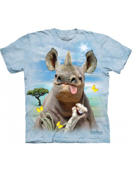 Rhino Selfie T-Shirt The Mountain