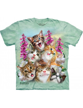 Kittens Selfie T-Shirt The Mountain