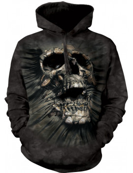 Breakthrough Skull Hoodie