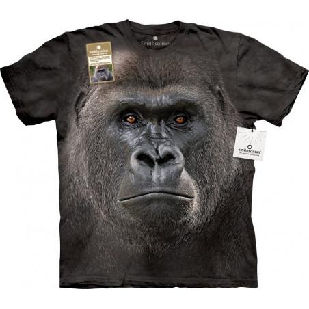 Big Face Lowland Gorilla
