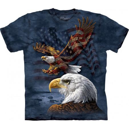 Eagle Flag Collage
