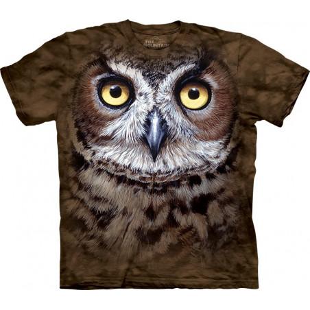 Great Horned Owl Head
