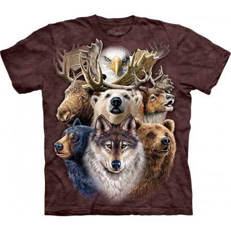 Northern Wildlife Collage