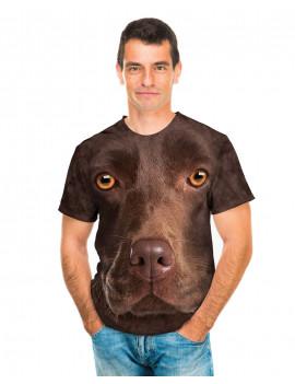 Chocolate Lab Face T-Shirt