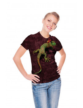 New The Mountain Peace Out Gecko Youth T Shirt