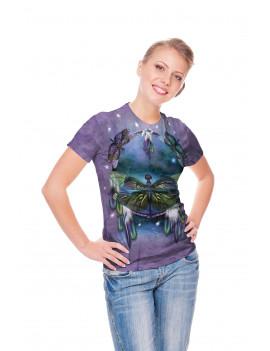 "The Mountain T-Shirt /""Dragonfly Dreamcatcher/"""