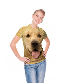Big Face Golden T-Shirt