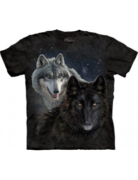 Star Wolves T-Shirt The Mountain