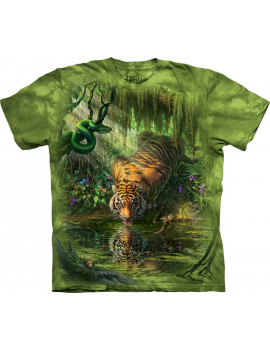Enchanted Tiger T-Shirt The Mountain