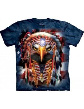 Native Patriot Eagle T-Shirt The Mountain