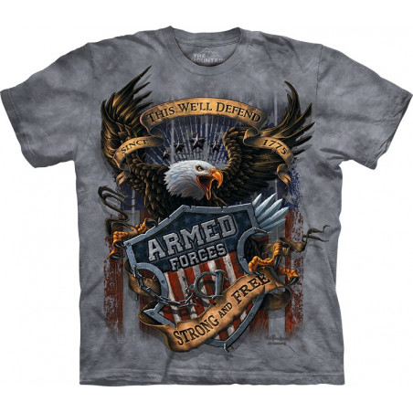 Armed Forces T-Shirt The Mountain